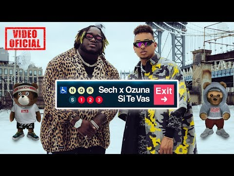 Sech Ozuna Si Te Vas Video Oficial