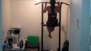 Perth Personal Training - Girl Doing 6 Strict Pull Ups