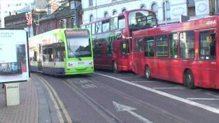 preview picture of video 'London Trams 3 Croydon'