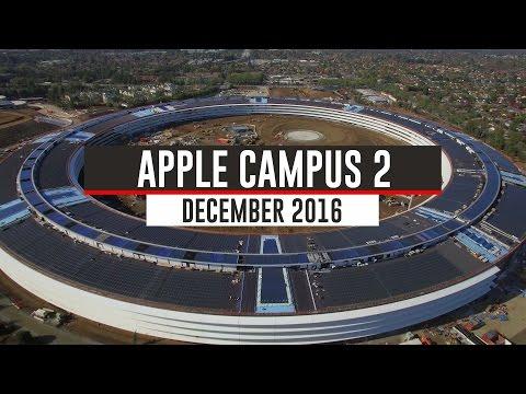 Latest Apple headquarters drone video depicts carbon fiber ...