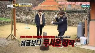 [INDOSUB] INFINITE SHOWTIME EP2 Myungsoo Sungyeol