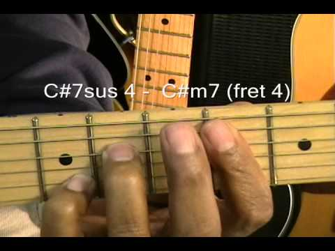 How To Play Guitar Chord Shapes Tutorial #1 Justin Timberlake Style Chords Dmaj9 C#m7 F#