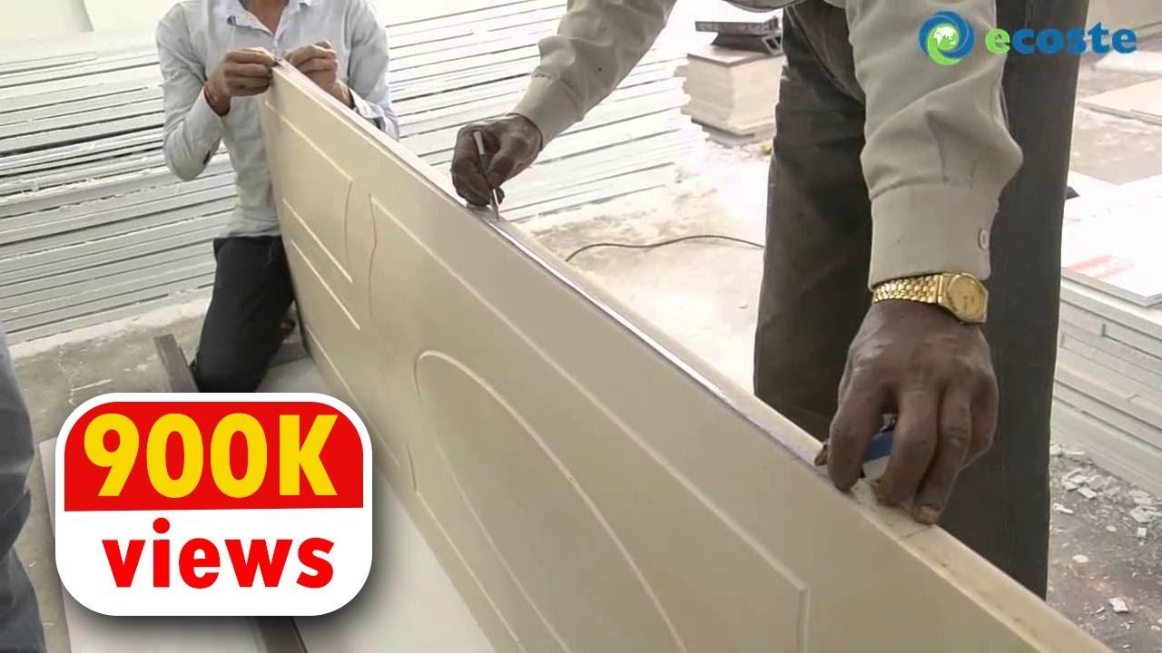 ECOSTE PVC Door & Door Frame Installation | A Complete Substitute To Wood !!
