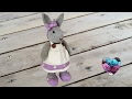 Amigurumi lapin tricot 3/3 / Miss Bunny amigurumi knit (english subtitles)