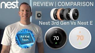 Nest Learning Thermostat 3rd Gen Vs. Nest E | REVIEW | COMPARISON