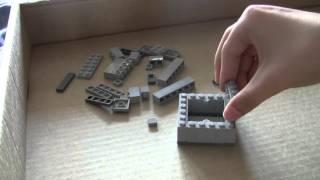 как сделать из лего майнкрафт поршень