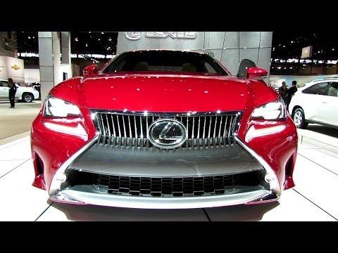 2015 Lexus RC350 - Exterior and Interior Walkaround - 2014 Chicago Auto Show