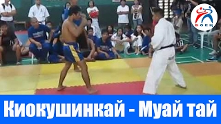 Муай Тай против Киокушинкай карате.