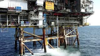Caisson Installation | Brage Platform  - Axess Group
