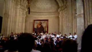 preview picture of video 'Magnificat Bach Cuba 2006'