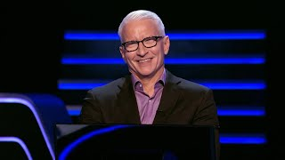 Anderson Cooper Calls Kelly Ripa For Help On The $1,000,000 Question - Who Wants To Be A Millionaire