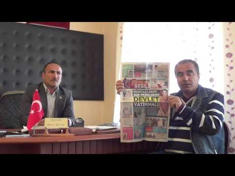 Kitreli Köyü Muhtari Metin Battal