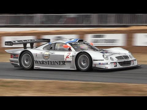 Mercedes-Benz CLK LM Sound - Accelerations & Fly Bys!