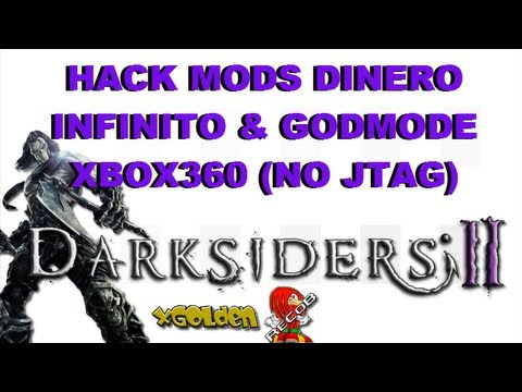Mods Darksiders 2 Dinero Infinito & Godmode Xbox360 (NO JTAG) - By xGolden & ReCoB