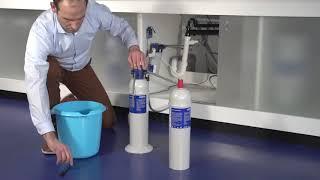 Катридж Brita Purity Finest C500, ресурс 4600 литров усиливает вкус кофе от компании CONTI ESPRESSO MACHINE - видео