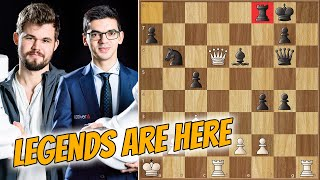 Human, After All || Carlsen Vs Giri || Chess Legends (2020)
