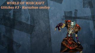 World of warcraft hidden smiley face under kahrazan glitch!