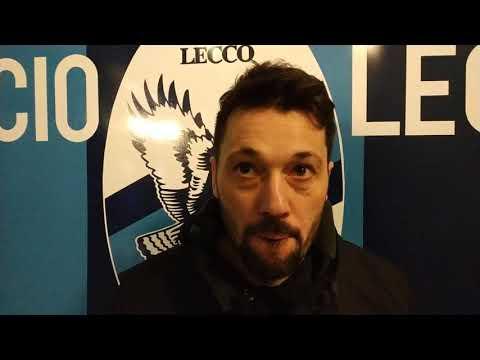 Lecco-Arezzo 2-2, intervista a mister Di Donato