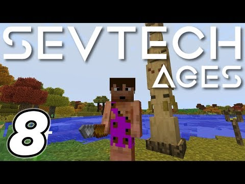 SevTech: Ages | The Evil Island! | Ep  11 - Modded Minecraft