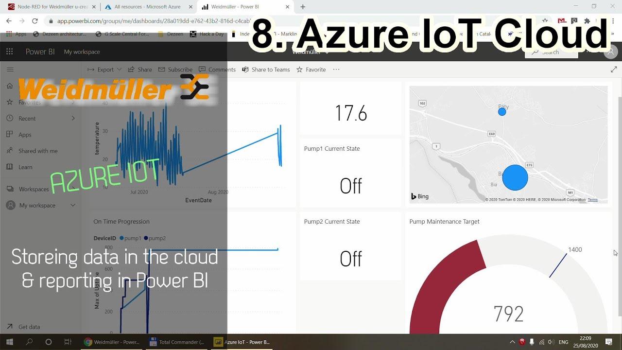 8. Weidmüller AC: Azure IoT Cloud