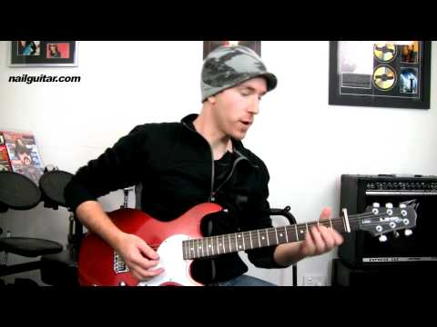 Guitar Lessons - 'Teenage Dream' by Katy Perry - Easy Beginners How To Play Electric Guitar Tutorial