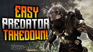 Ghost Recon Wildlands - EASY Way To Takedown Predator!