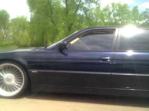 "2001 BMW 740iL HIGHLINE ALPINA B7 21"" wheels E38 Part 2"