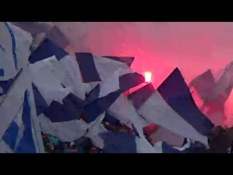 """""""Recibimiento clásico UC vs cc"""" Barra: Los Cruzados • Club: Universidad Católica"""