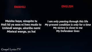 Joel Lwaga   Sitabaki Nilivyo || Swahili To English (Video Lyrics)