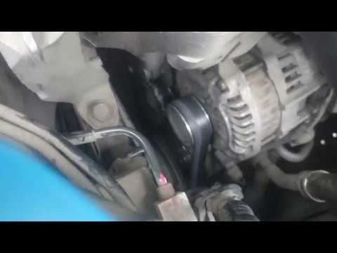 Как заменить ремень генератора на Mazda CX-5