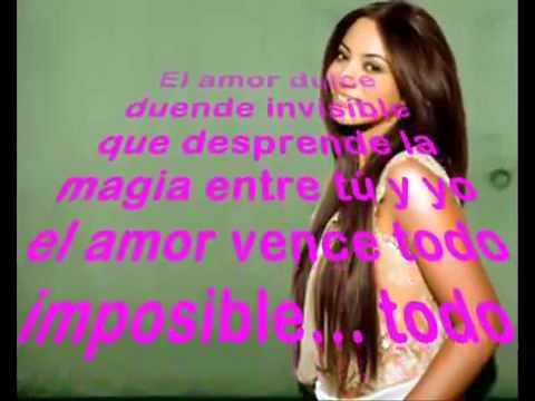 La fuerza del amor   Myriam Hernández   letra