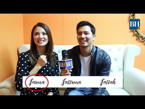 Fattzura: Serasi ke? (video credit: FB Berita Harian Singapura)