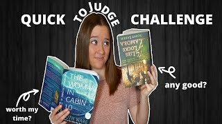 QUICK TO JUDGE Book Challenge (Original)