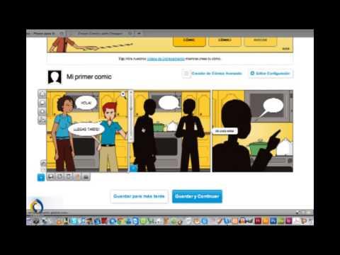 Aprenda a crear cómics con Pixton
