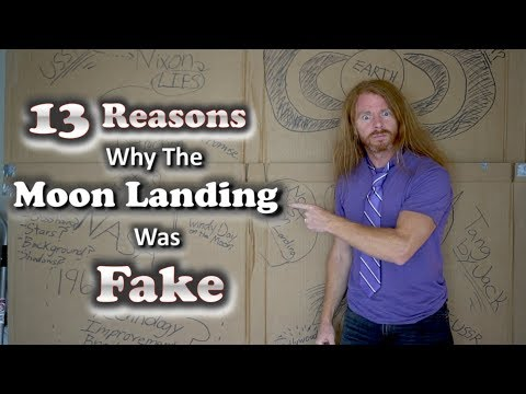 13 Reasons Why the Moon Landing was FAKE