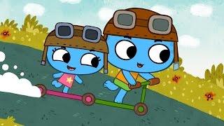 Мультфильмы для Малышей - Котики, вперед! - Большие гонки (Серия 5)