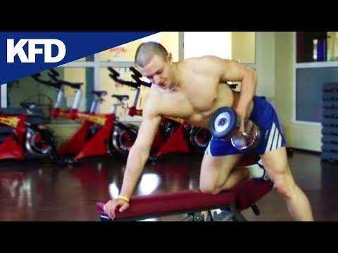 Ćwiczenia dla kobiet mięśnia trójgłowego