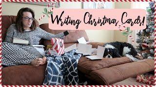 MORNING SICKNESS & WRITING CHRISTMAS CARDS TO YOU! VLOGMAS DAY 7