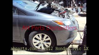 2012 Honda Civic LX parts AUTO WRECKERS RECYCLERS ahparts.com Acura used dismantler