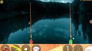 РЕАЛЬНАЯ РЫБАЛКА на андроид.  ( Лесное озеро)