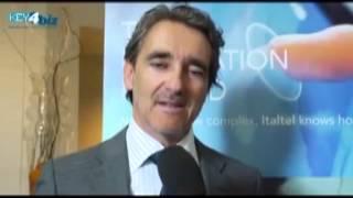 preview picture of video 'Soluzioni concrete per l'ICT in Italia: intervista a Maurizio Tondi di Italtel'