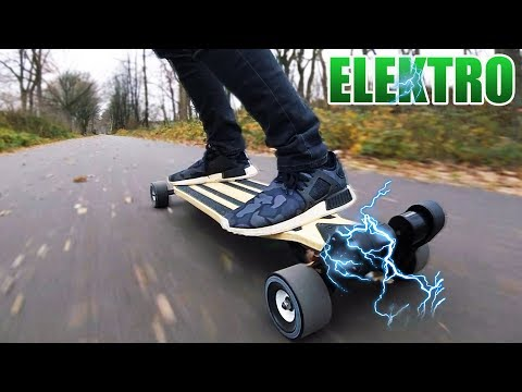 STREET SURFER 2 ELEKTRO LONGBOARD | Majestic Board Pro  Unboxing – Review – Test [Deutsch/German]