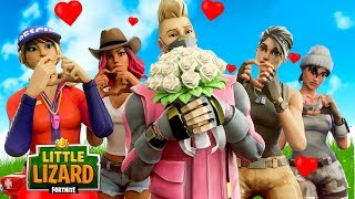 HOW TO GET A DATE ON VALENTINES DAY IN FORTNITE!!! - Fortnite Short Film
