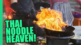 Bangkok's Impossible Pad Thai Noodles! Thai STREET FOOD Magic on Bangkok