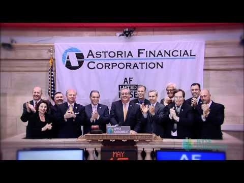 Astoria Financial Corporation Celebrates 10 Years of Trading rings the Closing Bell