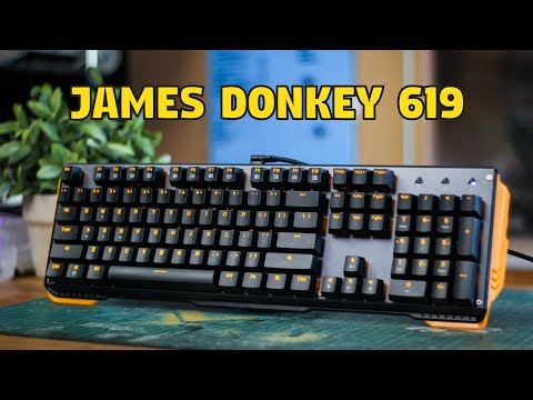 James Donkey 619 Mechanical Keyboard – Unboxing & Review