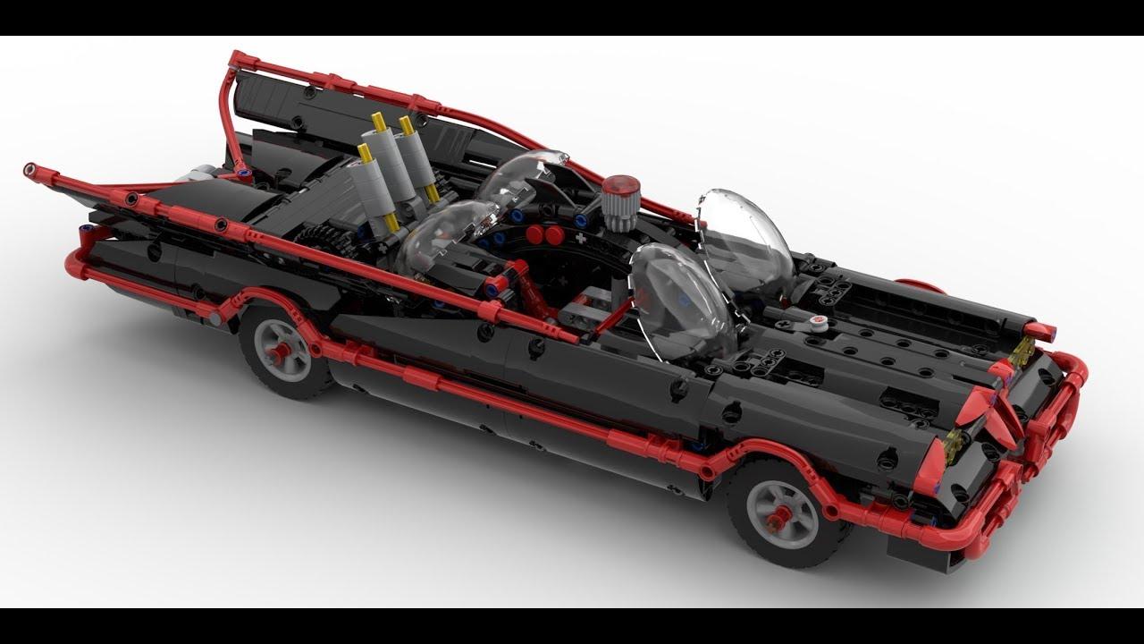 LEGO 1989 Batmobile (Mark III) instructions (MOC #109)