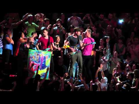 Coldplay - Us against the world & Speed of sound montreal July 26th 2012