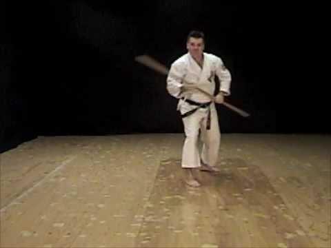 Shishi No Kun Bo Kata of Isshinryu