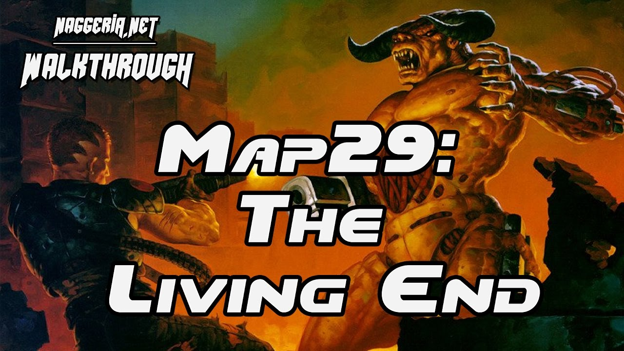 "[Doom 2 Komplettlösung] Map29: ""The Living End"" Walkthrough (Ultra-Violence)"